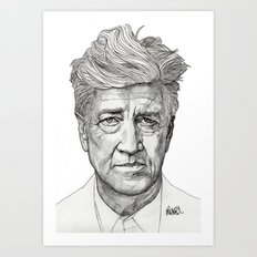 David Lynch Art Print