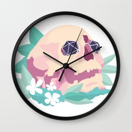 D&D (Dice and Death) Wall Clock