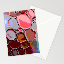 Pink Pebbles Stationery Cards