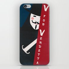 Remember Remember The Fifth Of November Vintage iPhone & iPod Skin
