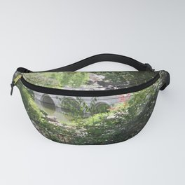 White bridge Fanny Pack