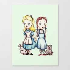Alice & Dorothy Canvas Print