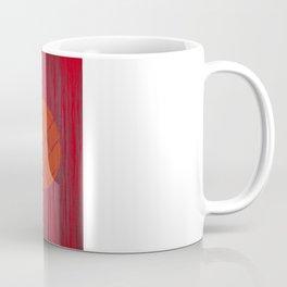 THREE BRICKS ON SPLINTERED WOOD  Coffee Mug