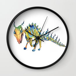 Day 15 Creature Wall Clock