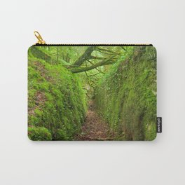 Ancient Emerald Forest Trail Carry-All Pouch