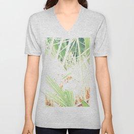 Las palmeras Unisex V-Neck