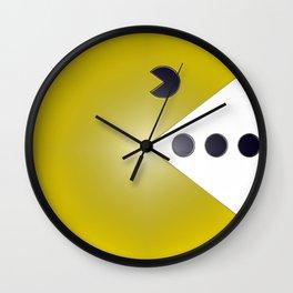 Banker Bull's Cliff - High Achiever Packman  Wall Clock