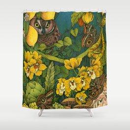 Aureate Shower Curtain