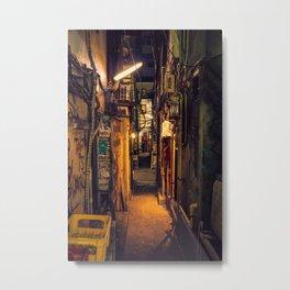 Tokyo Alley Metal Print