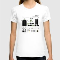 kit king T-shirts featuring Monster Kit by Graham Dobson