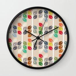 MCM Fall Wall Clock