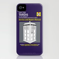 Tardis Service and Repair Manual Slim Case iPhone (4, 4s)