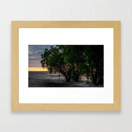 Lake Ontario - Long Exposure Sunrise Framed Art Print
