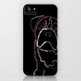 Bulldog Pup iPhone Case