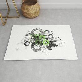 Abstract Art CIRCLES No. 3 Rug
