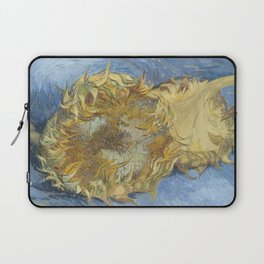 Two Sunflowers Laptop Sleeve