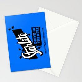 Starlite Drive-In Niagara Falls in Blue Stationery Cards