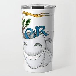 Monty Python, Comedy and Tragedy Travel Mug