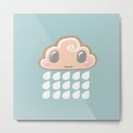 Baby Cloud Sprinkle Metal Print