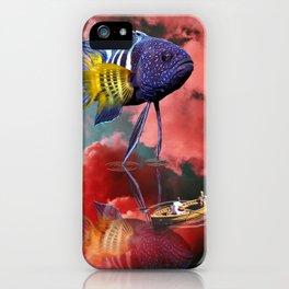 Dream Time iPhone Case