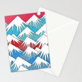 Red Sky Mounts Stationery Cards