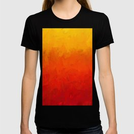 Scarlet and Gold Heat T-shirt