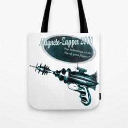 Retro RayGun Magneto-Zapper Tote Bag