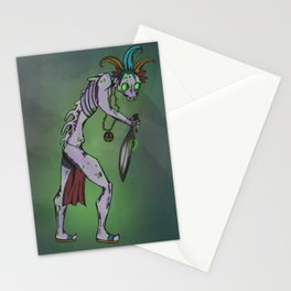 Undead Ghoul Stationery Cards