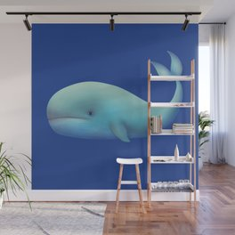 WHALE TOTEM Wall Mural