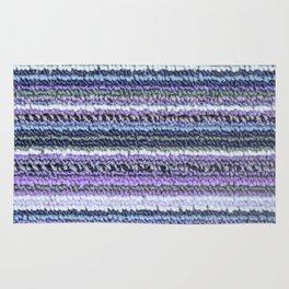 Lavender Blue Gray Carpet Texture Rug