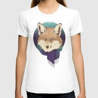 jon snow T-shirts featuring Fox by Laura Graves