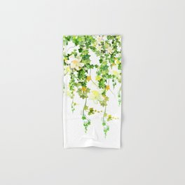 Watercolor Ivy Hand & Bath Towel
