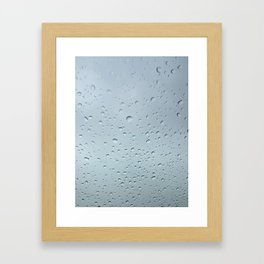 Obscured View Framed Art Print