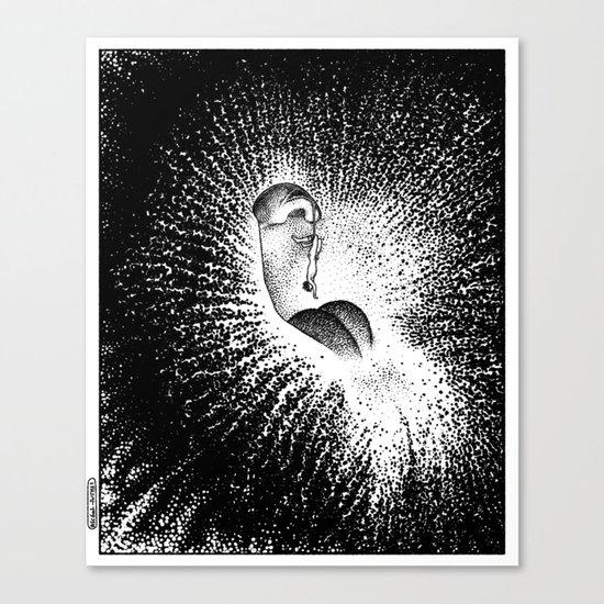 asc 607 - La grande inassouvie (The hanging man orchid) Canvas Print