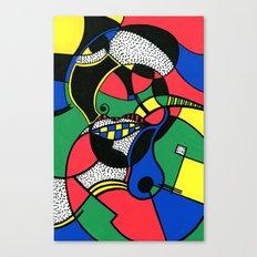 Print #7 Canvas Print