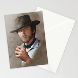 Man with no name ( Clint Eastwood ) Stationery Cards