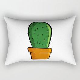 Cactus solo Majeran illustration Rectangular Pillow