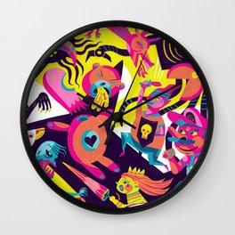 Glitched Wall Clock