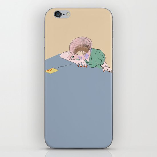 I SHOULD HAVE HAD THE COFFEE iPhone & iPod Skin