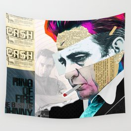 Johnny Cash - The Man In Black Wall Tapestry