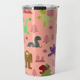 Cryptids of the PNW Travel Mug