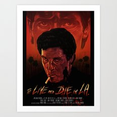 To Live And Die in L.A. Art Print