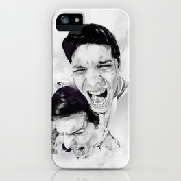 100 Days of Chaos iPhone Case