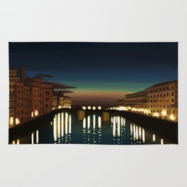 The Arno River Rug