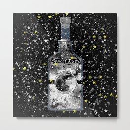 Spaced Rum Metal Print