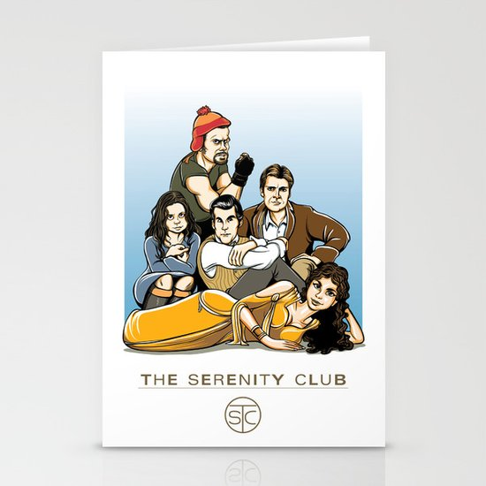 The Serenity Club Stationery Cards