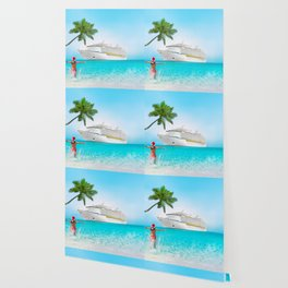 Christmas holidays on Caribbean cruise Wallpaper