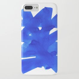 Superwatercolor Blue iPhone Case