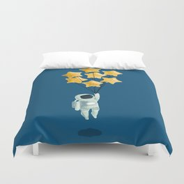 Astronaut's dream Duvet Cover