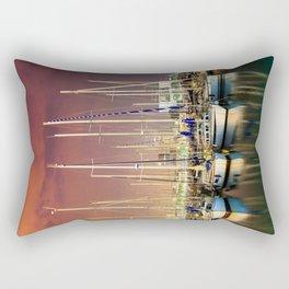 Barcelona Yacht Club Rectangular Pillow